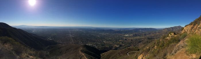 Los Angeles from the Mountain by bubblebutt42
