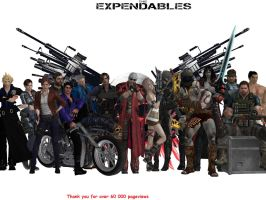 Everyone of us is Expendable (60000 pageviews) by Dante-564
