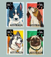 Dog Stamps by BooYeh