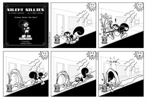 Silent Sillies 023 - Sidney Beats the Heat by JK-Antwon