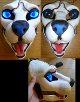 Large feline ready resin blank by DreamVisionCreations