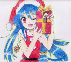 Anime 365: Day 77: Merry Christmas! :D by SammyyT