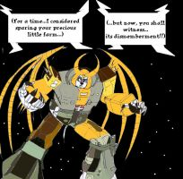 Transformatians: Unicron by Trey-Vore