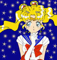 Sailor Moon by KikkiaPearl