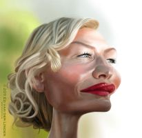 Cate Blanchett by edvanderlinden