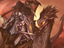 Attack on Dragon by nraza