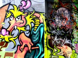 Melbourne Graffiti by cassiwoo
