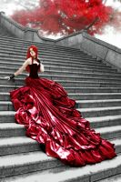 Scarlet: Lady in Red by pandorasconviction