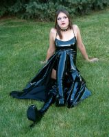 Vinyl Dress Mo 14 by Falln-Stock