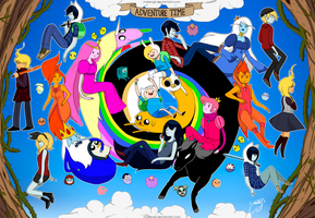 thank you Adventure time (9000watches THNKS) by malengil