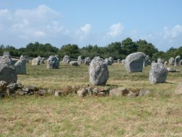 Field of Menhirs by WorldSerpent