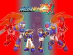 Megaman ZX Novelization preview pic by DarkGreiga