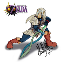 Fierce Deity Link by Xeybhls