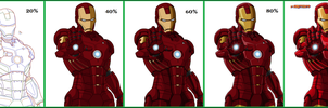 ironman manga wip evolution by Naruttebayo67