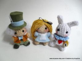 Wonderland Amigurumi set by AnyaZoe