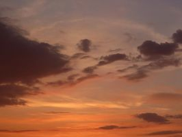 Peachy Sky #1 by Michies-Photographyy