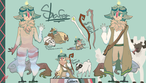 MYO Browbird contest-Shafer by Snowawolf