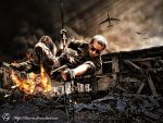 Soldier On Action by Xan-04
