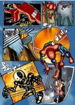 Spiderman Page 3 by Arzuza