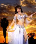 Sofia - Modeling for Ameynra belly dance fashion by SOFIAMETALQUEEN
