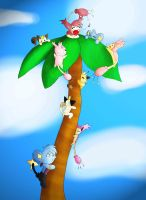 HPM: The Kitty Tree by Great-Leo