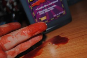 blood on my hands 1 by AngelicPicture