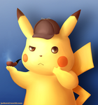 Pikachu Detective by Jackers666