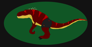 Super Villain-Tyrannosaur by GarchompKing1216