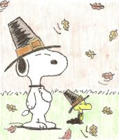 A Charlie Brown Thanksgiving by bumblebugbee