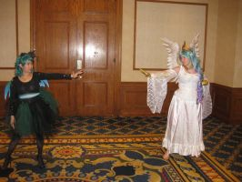 Faceoff-Celestia Vs. Crystallis-THE FINAL ROUND by Urvy1A