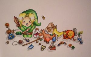 Young Link by starbuxx