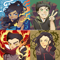 Team Avatar by nururuateka