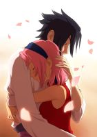 sasusaku by Flipfloppery