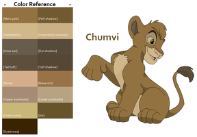 TLK Chumvi Color Reference by FeralHeartsFan