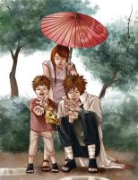 NARUTO - Family by smallshouts