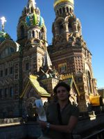 Drawing in St Petersbourg by crisurdiales
