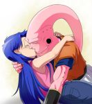 Sasha and Super Buu together by Grims-Little-Reaper