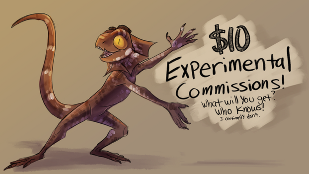 $10 Experimental Commissions! - CLOSED! THANK YOU! by MadMeeper
