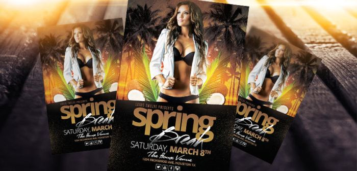 Spring Break / Summer Party | Flyer Template by LouisTwelve-Design