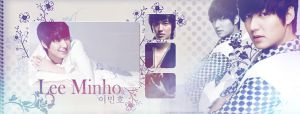 Lee MinHo Signature Banner by demeters
