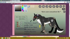 Real Alternative wolf form (dirty version.) by Osyka-Larochelle
