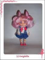 Chibiusa Custom Doll -WIP- by Amigdalita