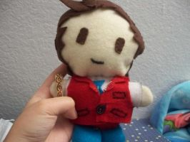 My Apollo Justice Plushie by plushietoon