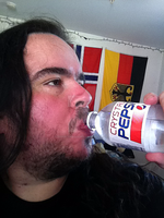 Me Enjoying A Crystal Pepsi by FearOfTheBlackWolf
