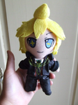 Kagamine Len Plush - Remote Control Outfit by Pikanessy