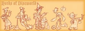 Nerds of Discworld by raisegrate