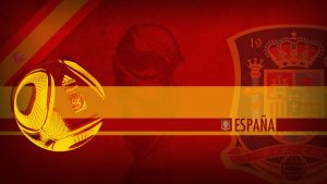 Spain WC2010 Wallpaper by Yabbus23