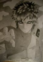 Naruto: Gaara as Kazekage by TrunksJovi