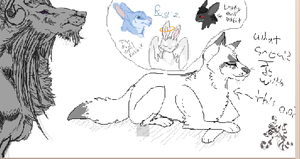 More iscribble collabish by Moracalle