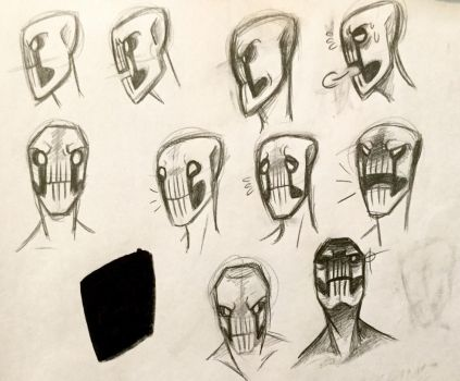 Dedan Lip-Sync sketches by Masked-Observer